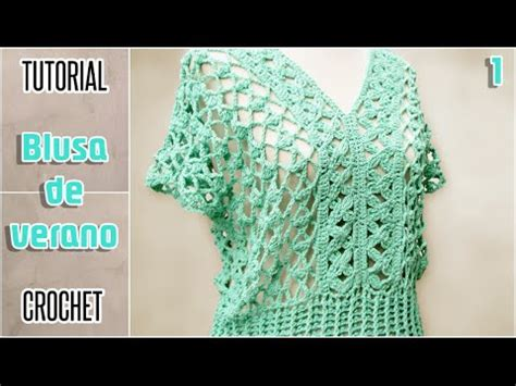 aprende a tejer blusas a crochet paso a paso learn knit easy crochet diy blusa para mujer todos los talles tutorial paso a