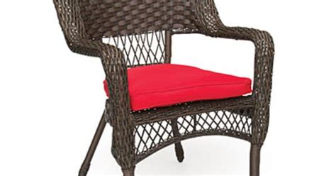 Wilson And Fisher Log Chair by Wilson Fisher 174 Charleston Resin Wicker Chair With