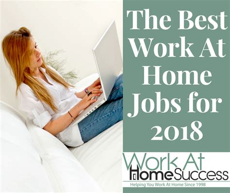 best work at home for 2018