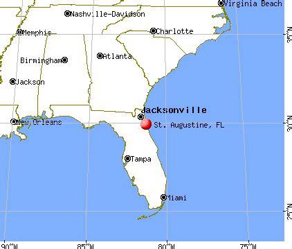 map of florida st augustine deboomfotografie