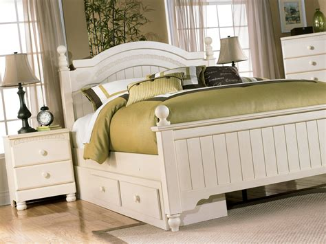 cottage retreat bedroom set cottage retreat youth poster storage bedroom set from