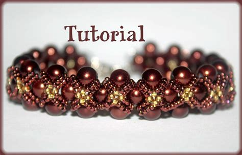 beading pattern pearls and seed by shinkabeads