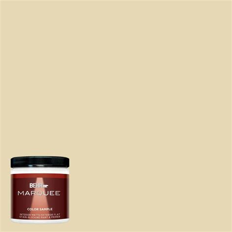 behr premium plus 8 oz 340d 4 honey interior exterior paint sle 340d 4pp the home depot