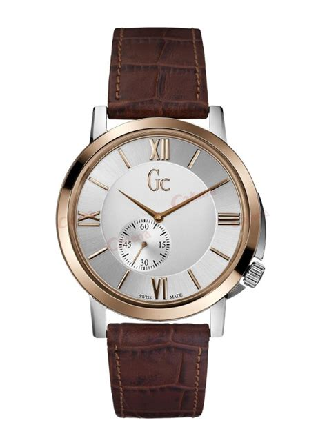 Gc Guess Leather Brown guess collection brown leather x59001g1s