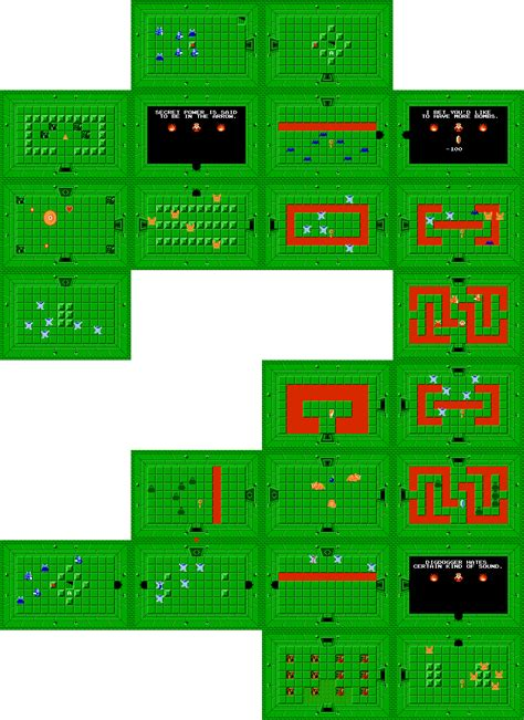 legend of zelda bomb map the legend of zelda walkthrough level 5 the lizard