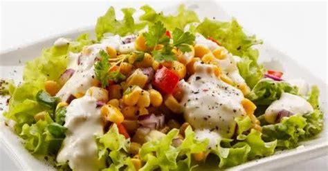 cara membuat salad buah yang sehat resep cara membuat salad sayur sehat bergizi resep om