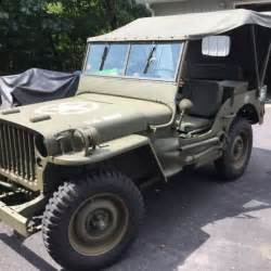 1943 willys mb jeep for sale photos technical