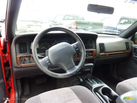 Jeep Grand Limited Interior Gray Interior 1998 Jeep Grand Laredo 4x4 Photo