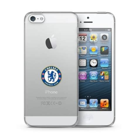 Iphone Iphone 5s Chelsea Cracked Cover new official chelsea fc iphone 5 5s se clear tough