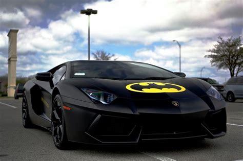 Lamborghini In Batman They Made A Lamborghini Aventador Concept With Batman