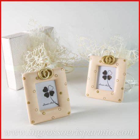 cornici bomboniere matrimonio mini portafoto matrimonio anniversario cornici con fedi