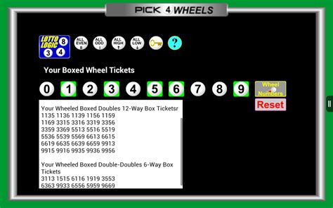 Amazon Gift Card Id Number - amazon com lottery wheels pick 4 daily number wheel generator appstore for android