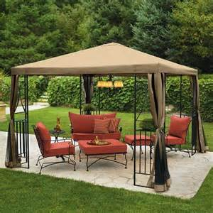 portable garden steel gazebo yard