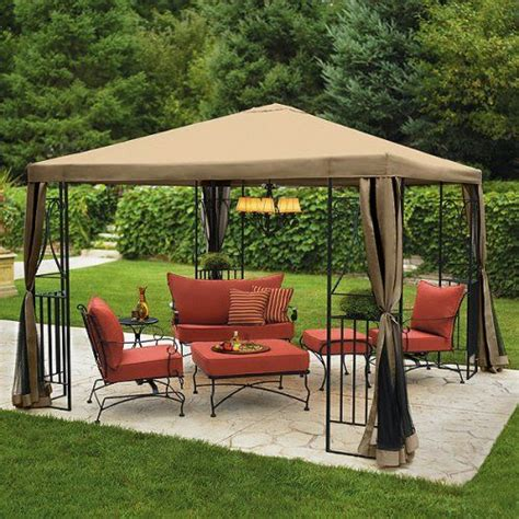 Portable Patio Gazebo Portable Garden Steel Gazebo Yard Pinterest