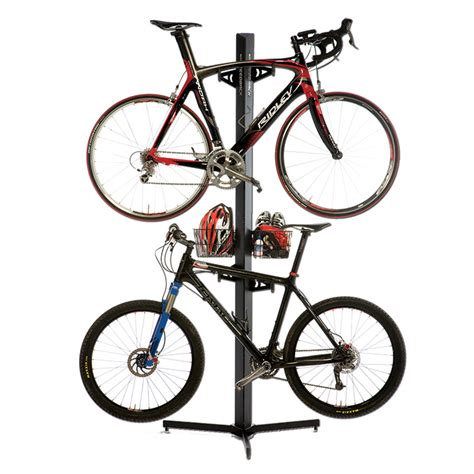 Velo Bike Rack by Feedback Sports Velo Cache 2 Bike Storage Rack