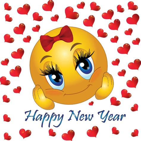 Happy New Year Emoticon 28 Images Happy New Year