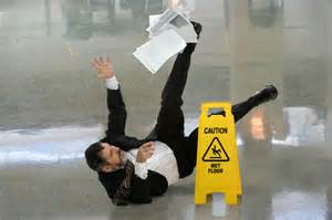 Injured in a slip and fall accident in jacksonville florida with an