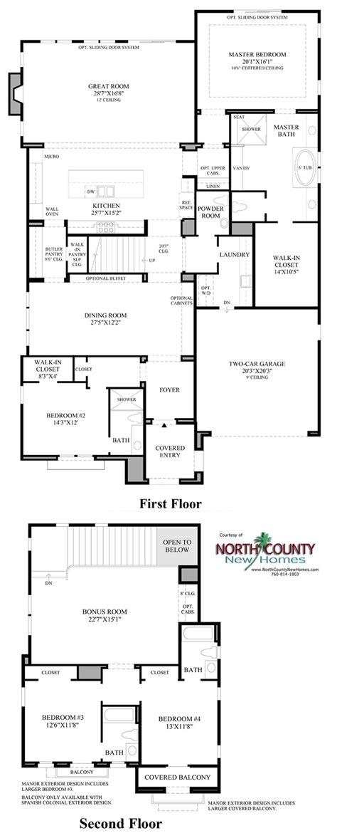 robertson 100 floor plan the terraces at robertson ranch floor plans carlsbad new