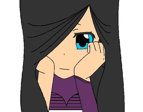 imagenes emo tristes para dibujar animes emos tristes para dibujar imagui