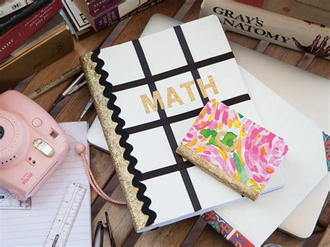 diy notebooks    school favecraftscom