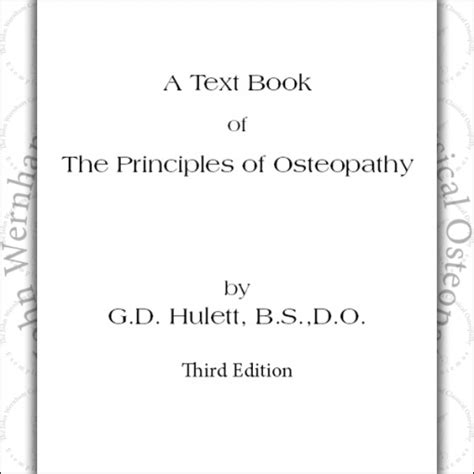 osteopathy research and practice books a text book of the principles of osteopathy the