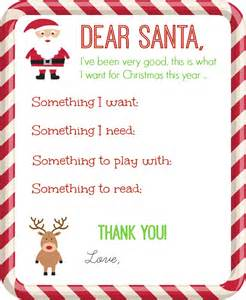 Charity Santa Letter santa letter printable organize and decorate everything