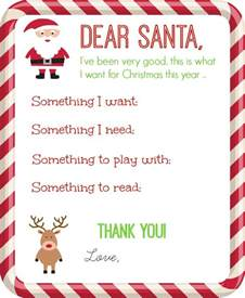 dear santa letter printable organize and decorate everything