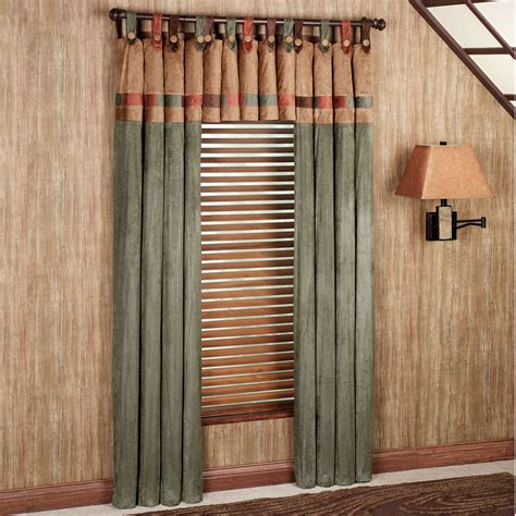best window curtains fusion tab top window treatments