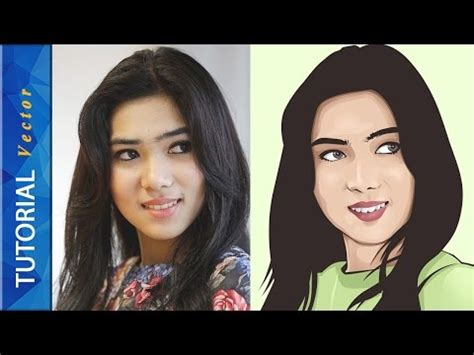 tutorial irithel tutorial vector vexel portrait photoshop time lapse doovi
