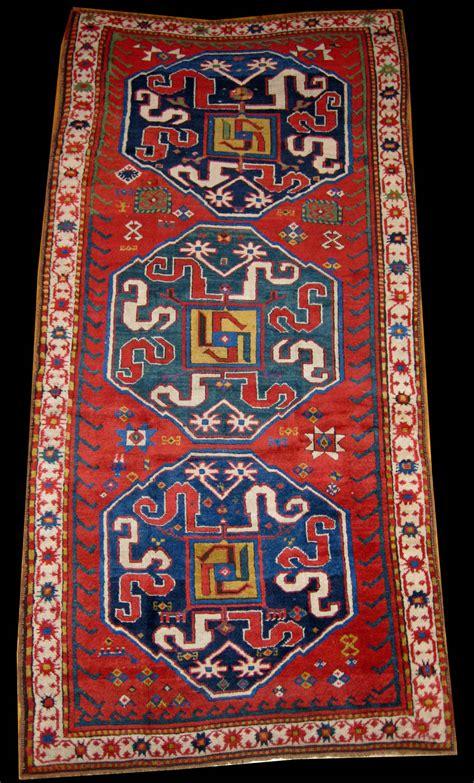 Antique Cloudband Kazak Rug Azerbaijan Rugs Band
