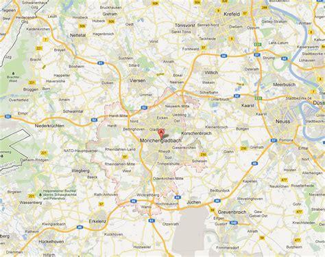 monchengladbach map and monchengladbach satellite image