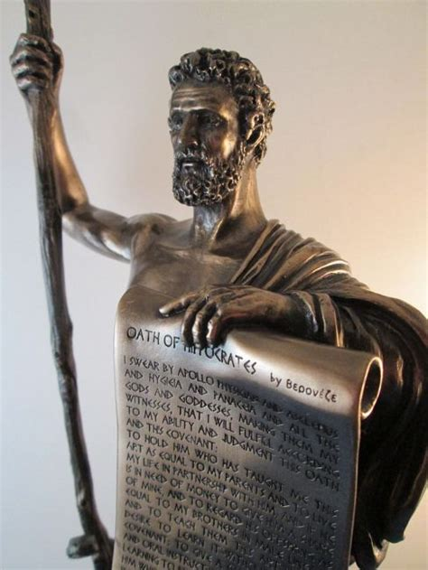 hippocrates oath and asclepius snake the birth of the profession books of medicine asclepius statues and hippocratic