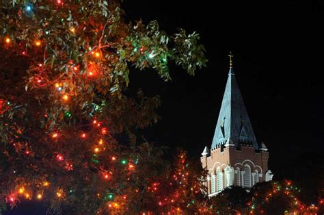 christmas lights at university of incarnate word san
