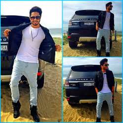 jassi gill hair stayl photos dashing jassi gill with range rover watch listen