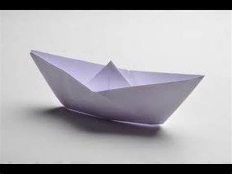 How To Make Paper Levitate - how to make a paper boat that can float hd