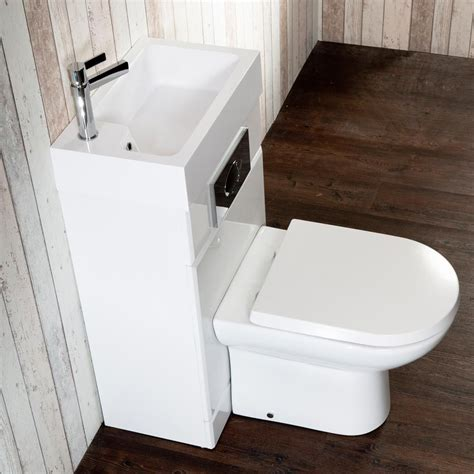 metro combined two in one wash basin toilet 500mm wide x 300mm basin toilet and stylish