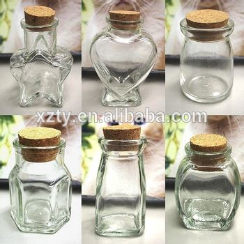 Botol Jar Mini Mini Glass Favor Jars Bottle With Cork Keepsake Souvenir
