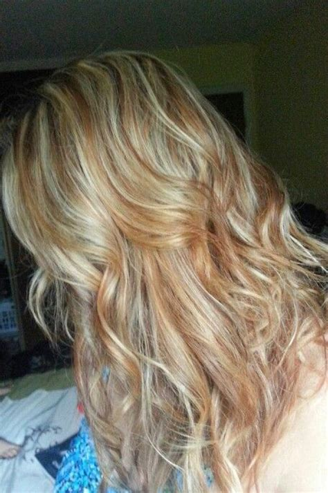 carmel and blonde highligh pictures blonde and caramel highlights beauty pinterest
