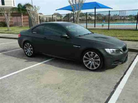 matte black bmw m3 for sale find used 2008 bmw m3 flat matte black six speed manual