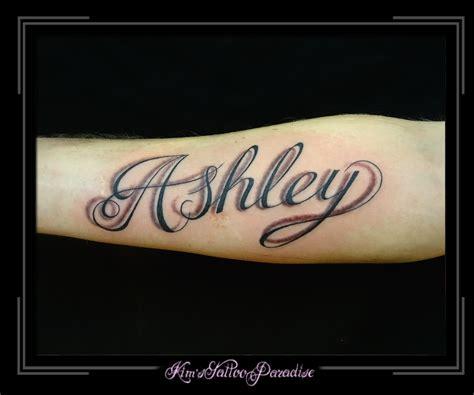 tattoo arm naam schaduw kim s tattoo paradise
