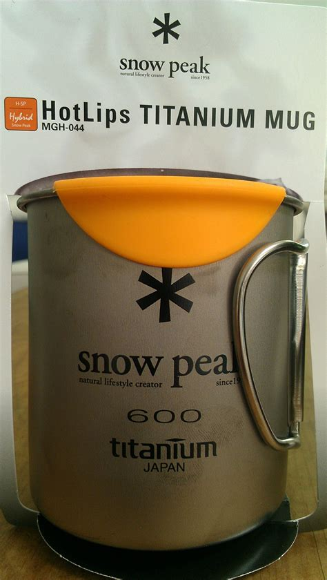snow peak kanpai titanium bottle 350 ml hiking tools snow and bottle