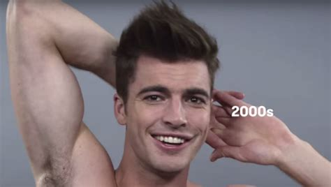 mens hair styles during the last 100 years at last a 100 years of male beauty video