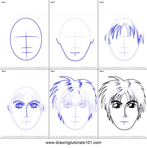 How To Draw A Boy Step By Step