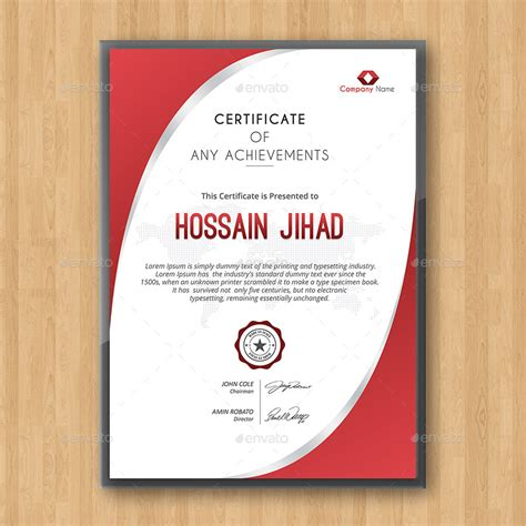 best modern editable certificates template 2016 designs hub