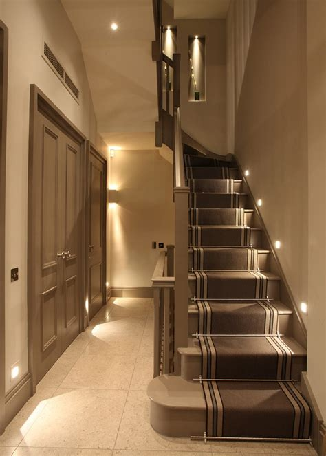 stairway ideas staircase lighting ideas tips and products cullen