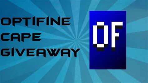 Optifine Cape Giveaway - optifine cape giveaway youtube