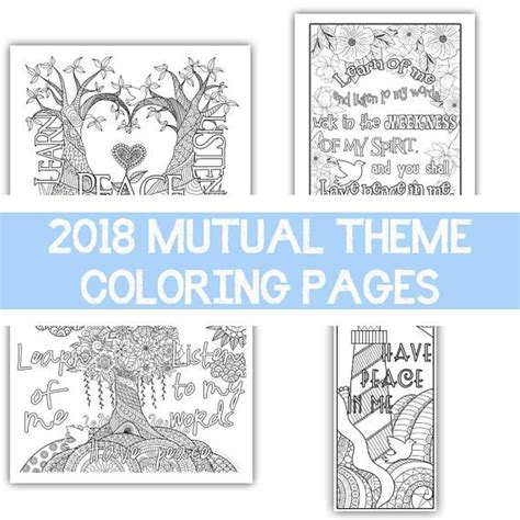 lds yw coloring pages 63 best yw personal progress images on pinterest