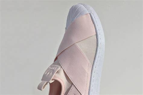 Adidas Superstar Slip On Pink Original a light pink covers adidas originals superstar slip on hypebae