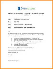 11 formal invitation for meeting resume emails