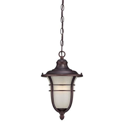 outdoor hanging light bel air lighting atrium 1 light outdoor hanging rust